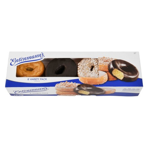 Entenmann's Classic 8 Variety Pack Donuts - 16oz Box - image 1 of 4