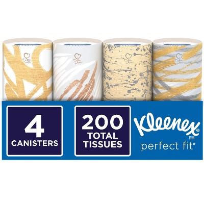 Kleenex Perfect Fit Facial Tissue - 4pk/50ct