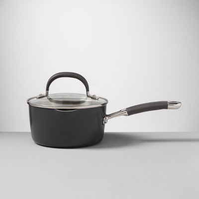 Ceramic Coated Aluminum Covered Saucepan 1.5qt - Made By Design™