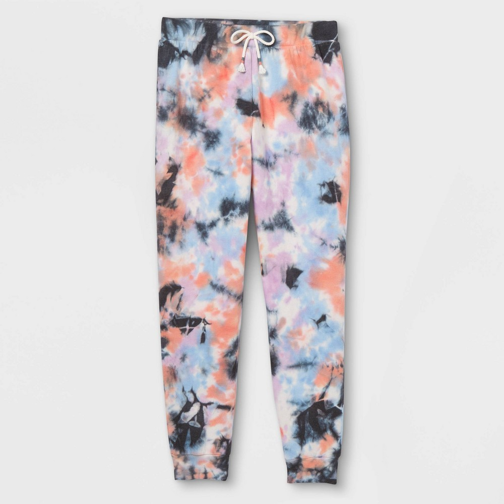 Girls 39 Tie Dye Jogger Pants Art Class 8482 Black M