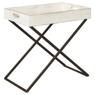 Janfield Accent Table Antique White - Signature Design by Ashley
