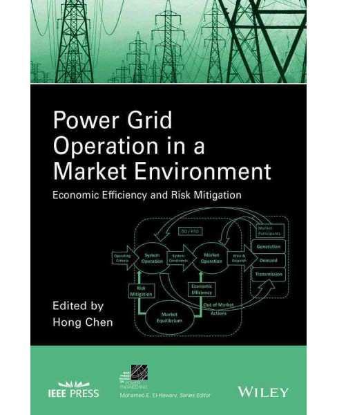 Power Grid Operation in a Market Environment : Economic Efficiency and Risk Mitigation (Hardcover) (Hong - image 1 of 1