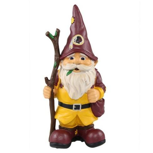 NFL Washington Redskins Gnome Holding Stick Outdoor Sculpture - image 1 of 2