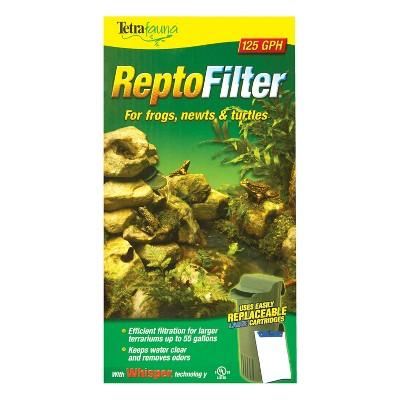 TetraFauna ReptoFilter 50 Gallons, Terrarium Filtration, Keeps Water Clear