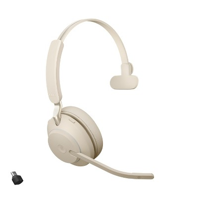 Jabra Evolve2 65 USB-C MS Mono Beige Wireless Headset / Music Headphones