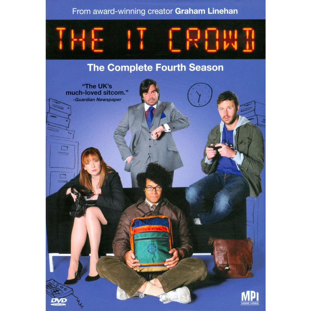 It Crowd:Complete Season 4 (Dvd)
