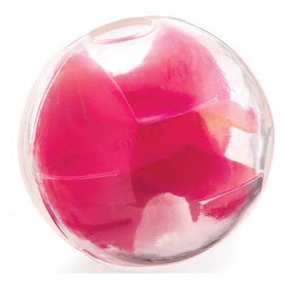 Planet Dog Orbee-Tuff Mazee Interactive Puzzle Ball Dog Toy - Pink