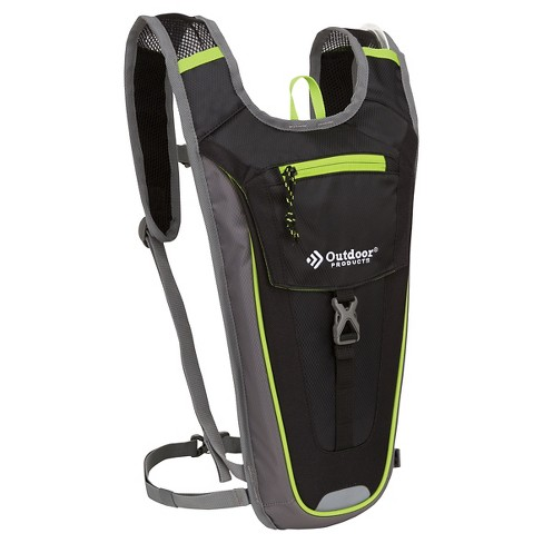 Outdoor Products Trail Sprint Hydration Pack - Black/Lime Green - image 1 of 3