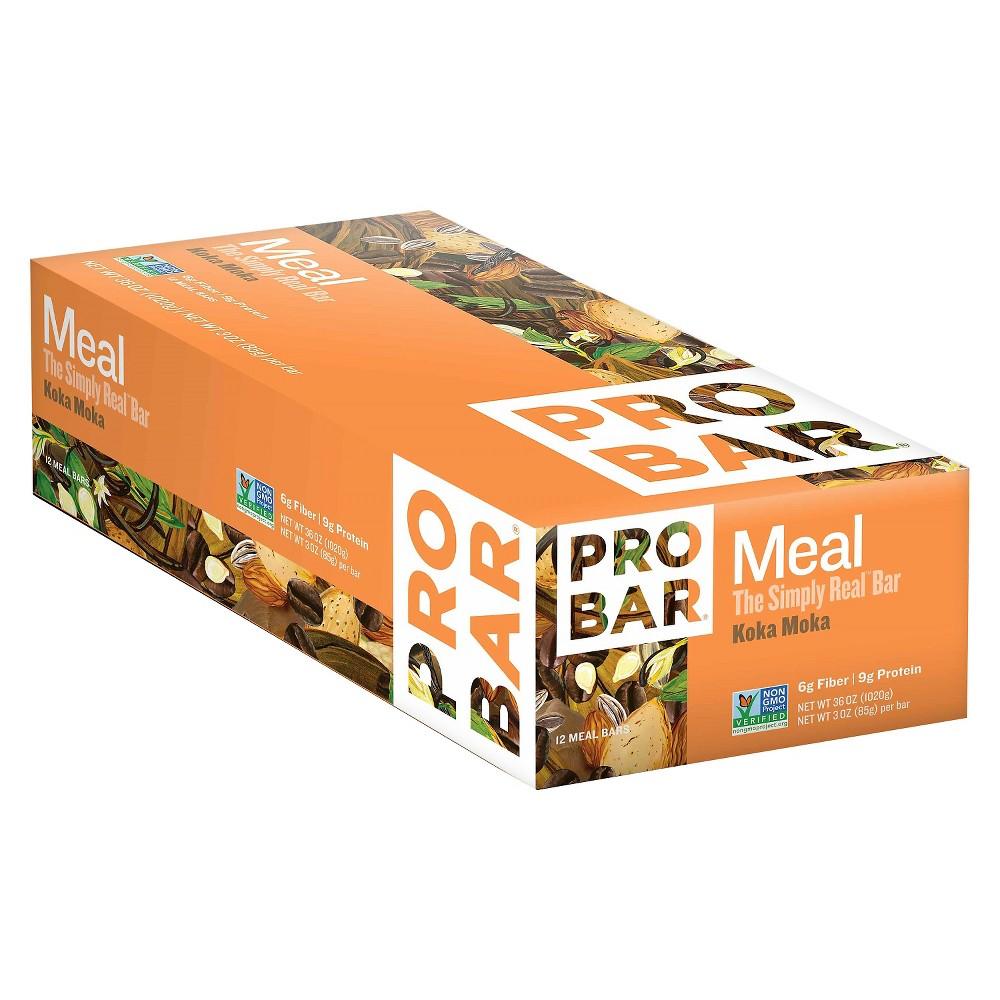 Probar Meal Koka Moka Nutrition Bar 36 oz 12 ct