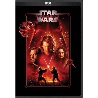 Star Wars Revenge Of The Sith Dvd Target