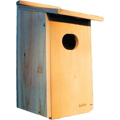 Woodlink WD1 Wood Duck Hanging Nesting House Box with 4 x 3-Inch Oval Entrance Hole for Marshlands