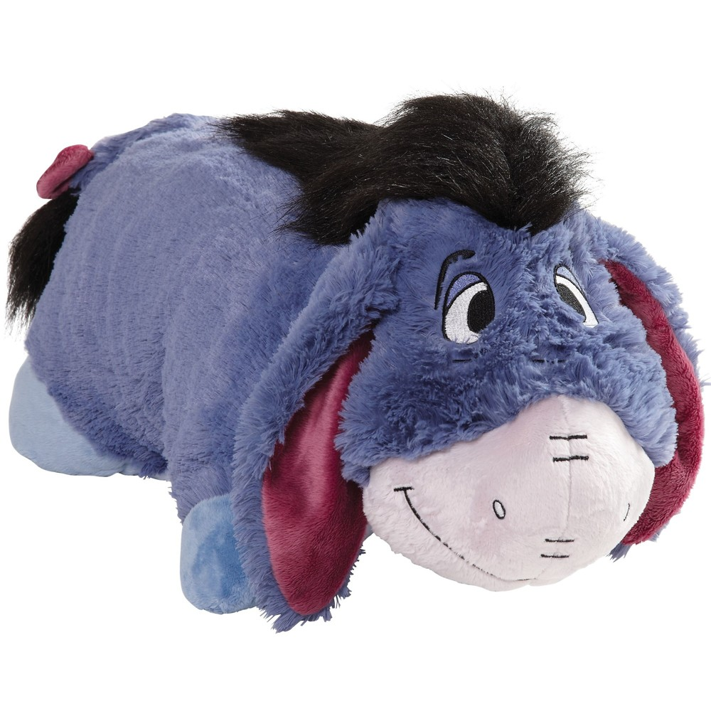 "Image of ""Disney Winnie the Pooh Eeyore 16"""" Pillow Pet Blue"""