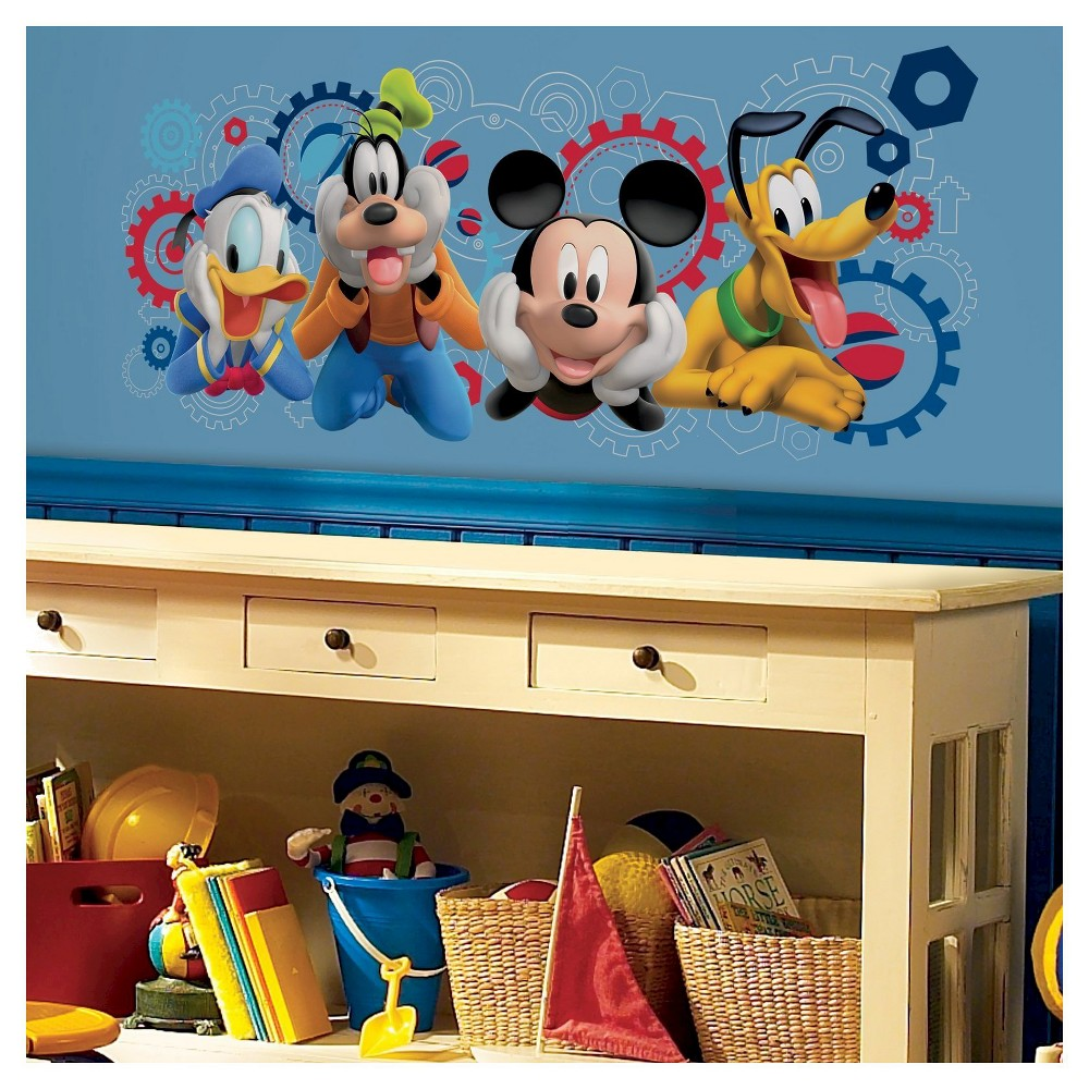 Mickey Mouse Clubhouse Capers Peel and Stick Wall Decal