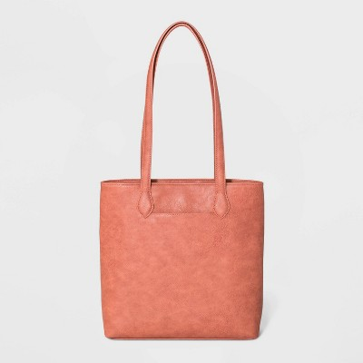 Magnetic Closure Tote Handbag - Universal Thread™ Red