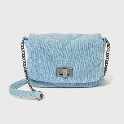 Girls' Quilted Crossbody Bag - art class™
