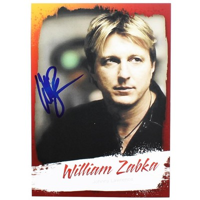 "Nerd Block The Karate Kid 5"" x 7"" William ""Johnny Lawrence"" Zabka Autographed Print"