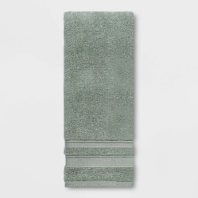 Performance Hand Towel Light Sage Green - Threshold™