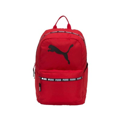 "Puma 18.5"" Text Book Backpack - Red"