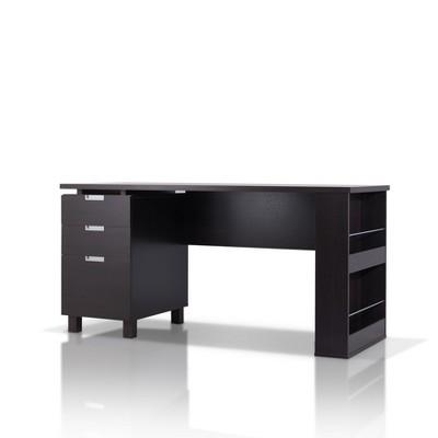 Regina 3 Drawer Vanity Table Espresso - miBasics