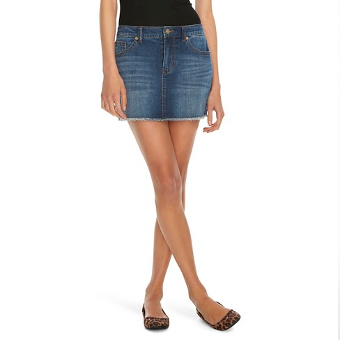 Women's Mini Jeans Skirt - Mossimo™ - image 1 of 2