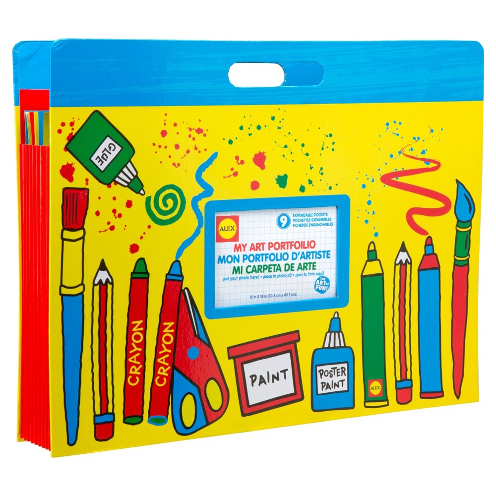 Alex Toys Artist Studio My Art Portfolio, Multi-Colored