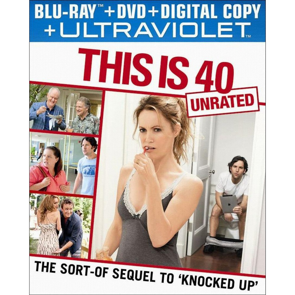 This Is 40 (2 Discs) (Includes Digital Copy) (UltraViolet) (Blu-ray/Dvd)