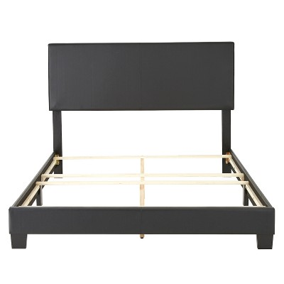 Langley Faux Leather Upholstered Platform Bed Frame - Eco Dream