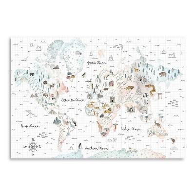 Americanflat World Traveler I by Laura Marshall Poster Print