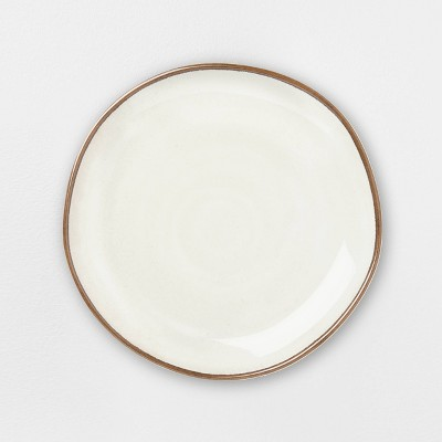 Melamine Border Stripe Dinner Plate - Hearth & Hand™ with Magnolia