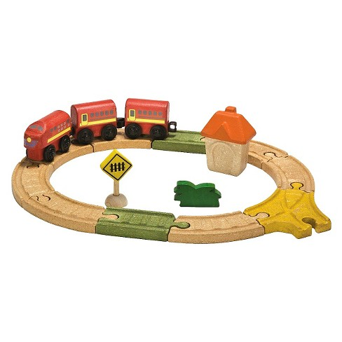 PlanToys® City Road And Rail Oval Railway - image 1 of 1