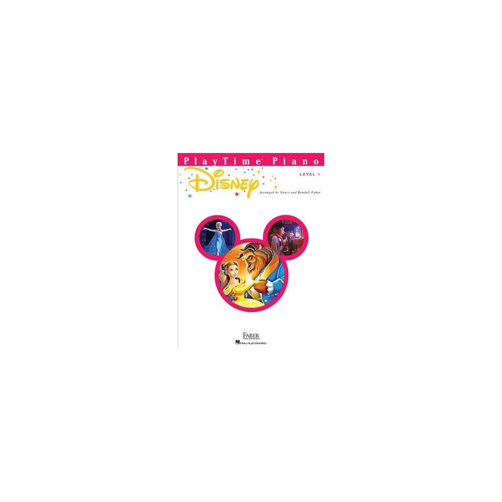 Playtime Piano Disney, Level 1 - (Paperback)