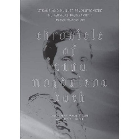 CHRONICLE OF ANNA MAGDALENA BACH (DVD) - image 1 of 1