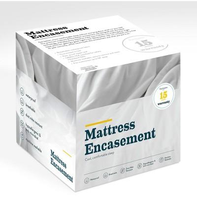 Glenwillow Home Premium Mattress & Foundation Encasement, Pack of 4