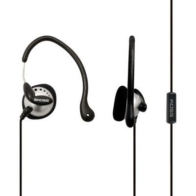 Koss KSC22i Ear Clip - Stereo - Mini-phone - Wired - 16 Ohm - 60 Hz - 20 kHz - Earbud, Over-the-ear - Binaural - In-ear - 4 ft Cable - Black