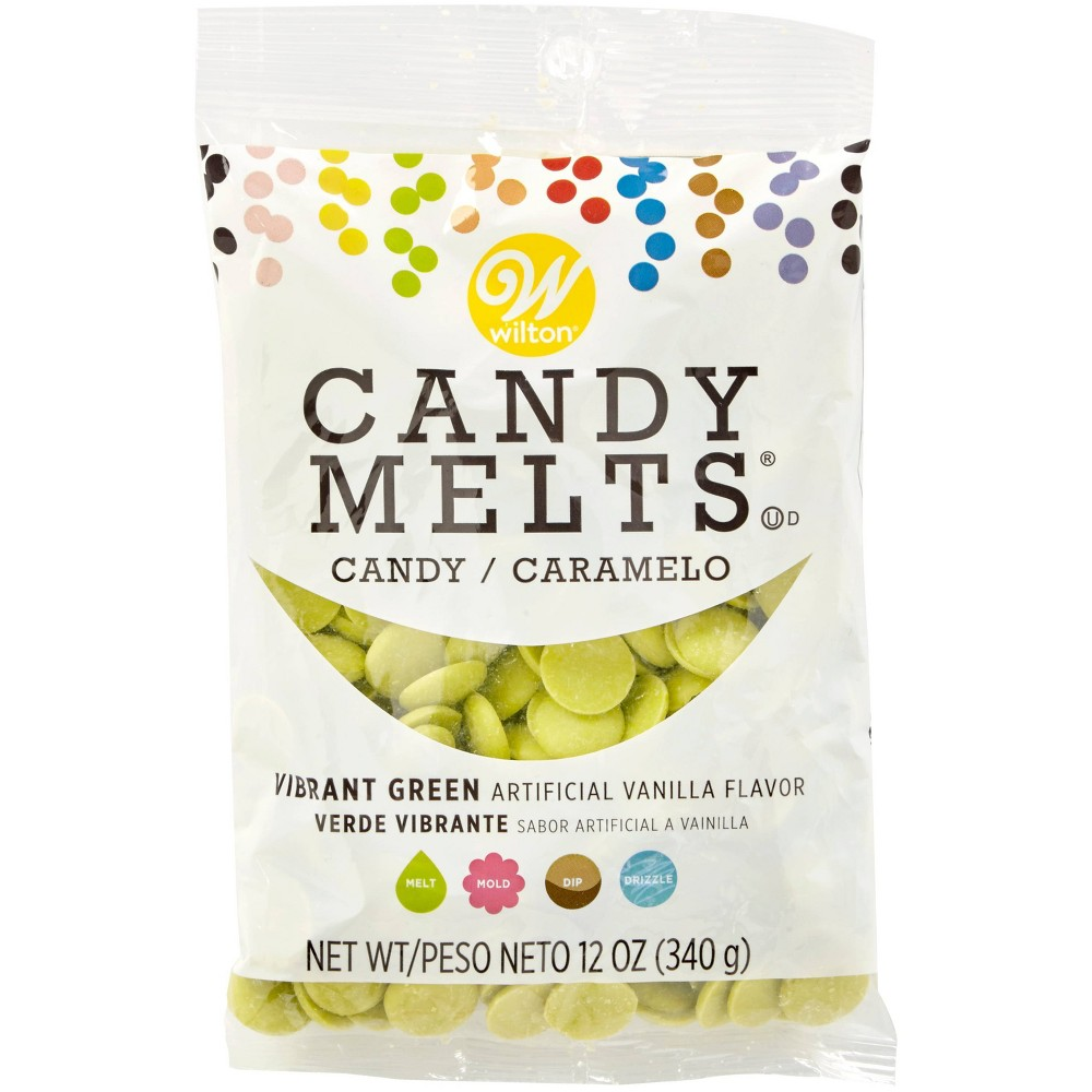 Image of Wilton 12oz Candy Melts - Green