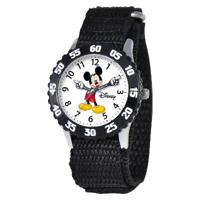 Boys' Disney Mickey Mouse Watch - Black