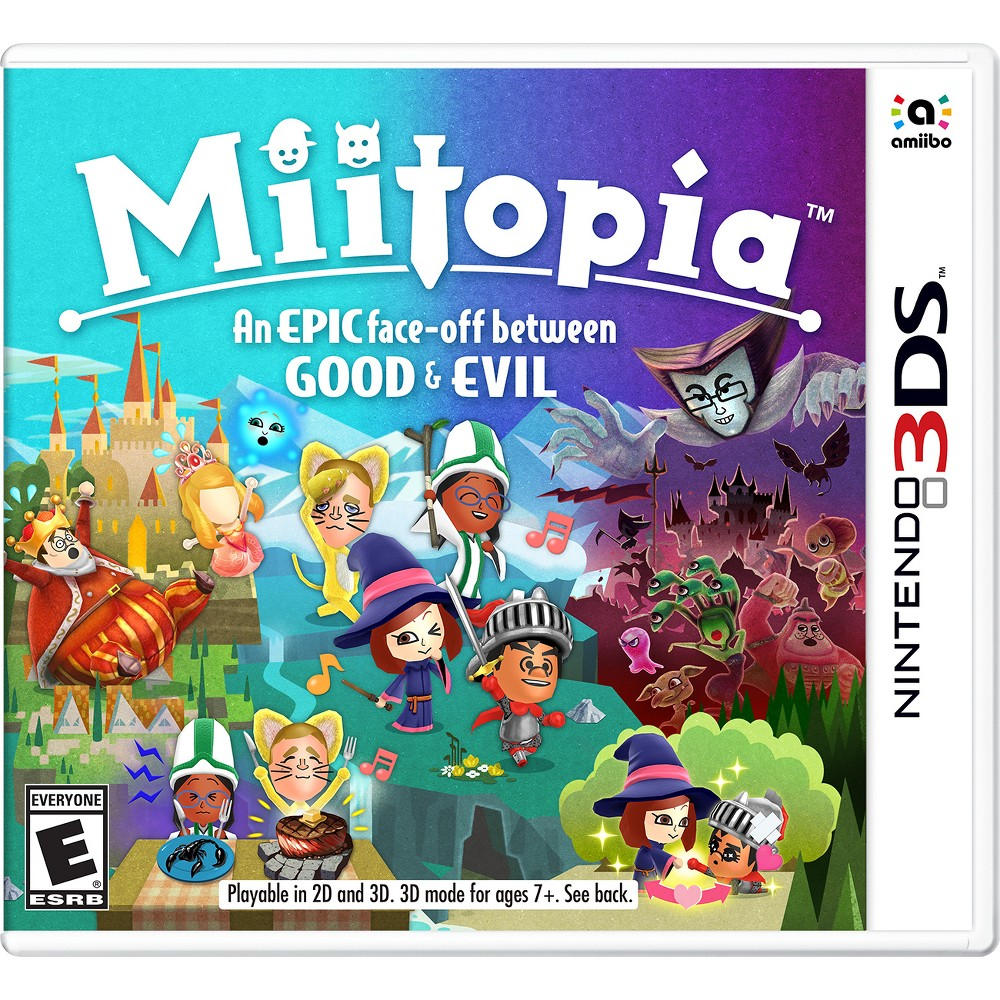 Miitopia Nintendo 3DS, Video Games