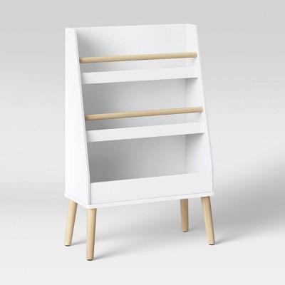 Modern Tall Three Shelf Bookshelf White - Pillowfort™