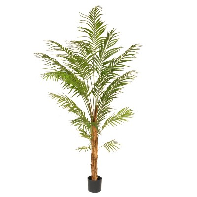 7' Artificial Potted Palm Tree - National Tree Company