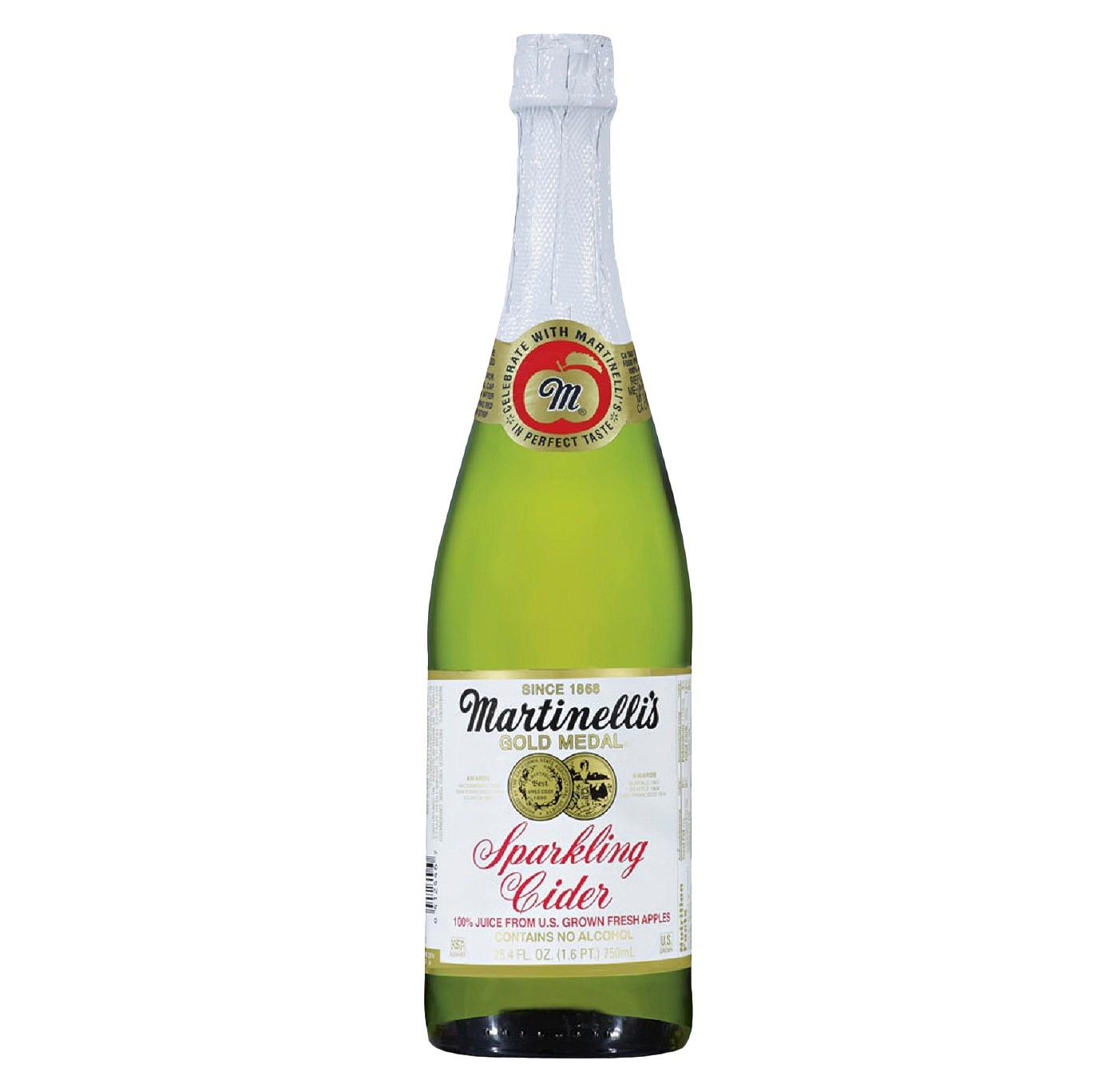 Martinelli's Gold Medal Sparkling Cider -25.4 fl oz Glass Bottles - image 1 of 3
