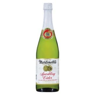 Martinellis Gold Medal Sparkling Cider -25.4 fl oz Glass Bottles