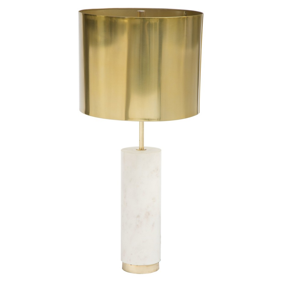 Table Lamp (Includes Light Bulb) - ZM Home, Brass