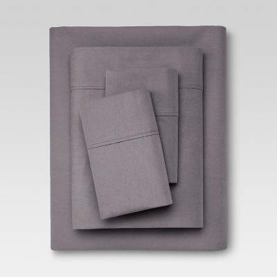 Organic Sheet Set (King)Gray 300 Thread Count - Threshold™