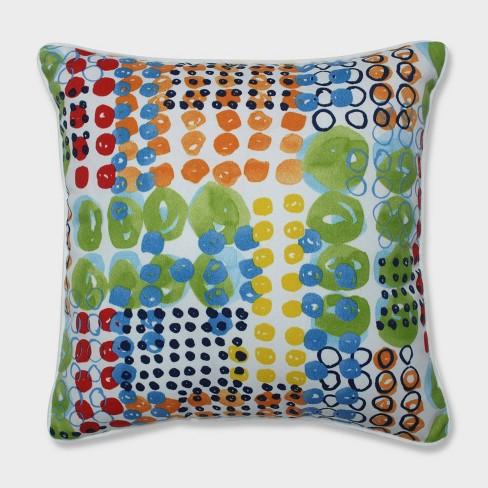 "16.5"" 2pk Kelpie Summer Throw Pillows Blue - Pillow Perfect - image 1 of 1"
