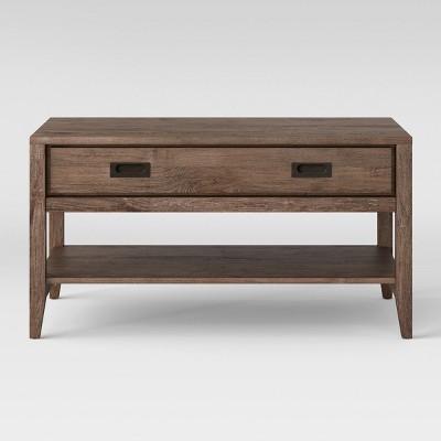 Millbury Rustic Wood Coffee Table - Threshold™
