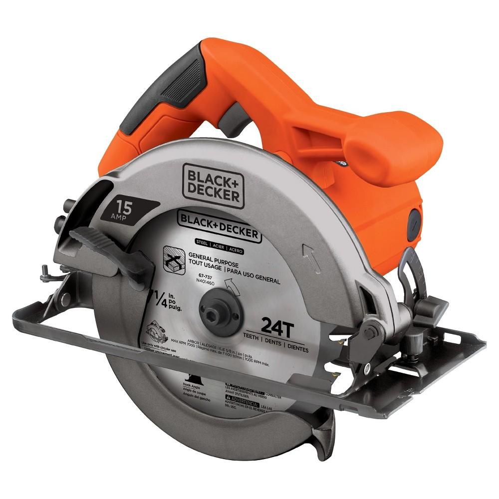 Black+decker 15 Amp 7-1/4 Circular Saw - CS1015