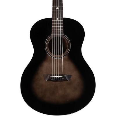 Washburn Bella Tono Novo S9 Studio Acoustic Guitar Transparent Charcoal Burst