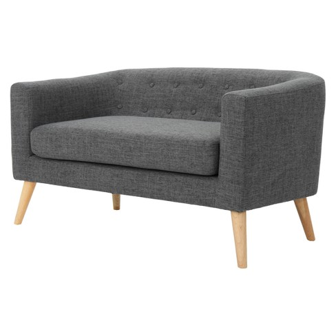 Bridie Mid-Century Loveseat - Christopher Knight Home - image 1 of 4