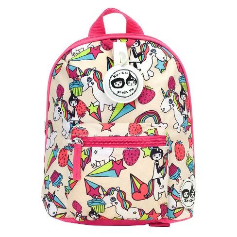 "Zip & Zoe Mini 10"" Kids' Backpack & Safety Harness - Unicorn - image 1 of 4"