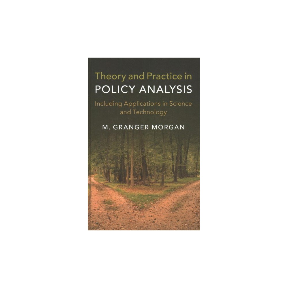 Theory and Practice in Policy Analysis : Including Applications in Science and Technology - (Hardcover)